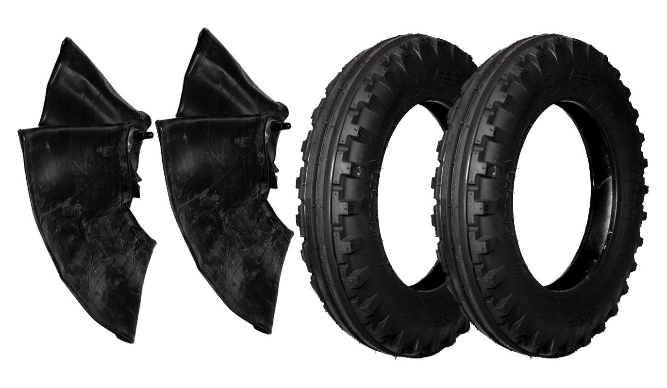 40 km//h 2x Traktorreifen 4.50-16 4PR//65A8 BKT TF-8181 TT Reifen für Traktor