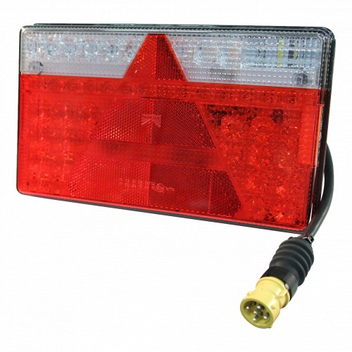 Anhänger LED Rückleuchte Multiled II (links) mit Kennzeichenbeleuchtung